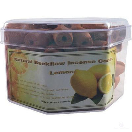 Backflow Incense Cones - Lemon Fragrance (Pk 70-Metaphysical Products-Cosmic Crystal Visions-Cosmic Crystal Visions