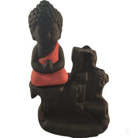 Buddha Waterfall Backflow Incense Burner-Metaphysical Products-Cosmic Crystal Visions-Cosmic Crystal Visions