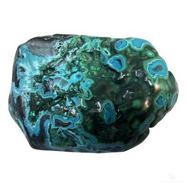 Chrysocolla, Malachite & Azurite Polished Specimen-Crystals-Cosmic Crystal Visions-Cosmic Crystal Visions