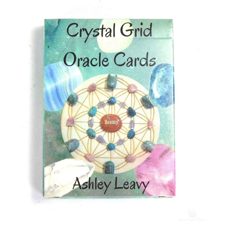 Crystal Grid Oracle Cards-Cosmic Crystal Visions-Cosmic Crystal Visions