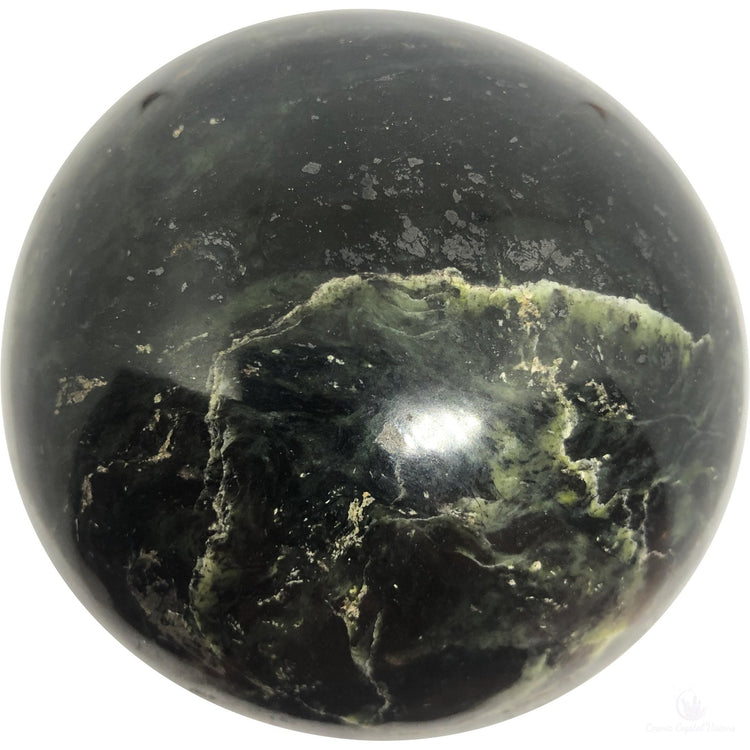 Large Serpentine Sphere-Crystals-Cosmic Crystal Visions-Cosmic Crystal Visions