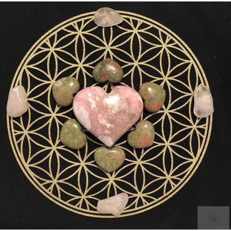 Love Crystal Grid-Cosmic Crystal Visions-Cosmic Crystal Visions