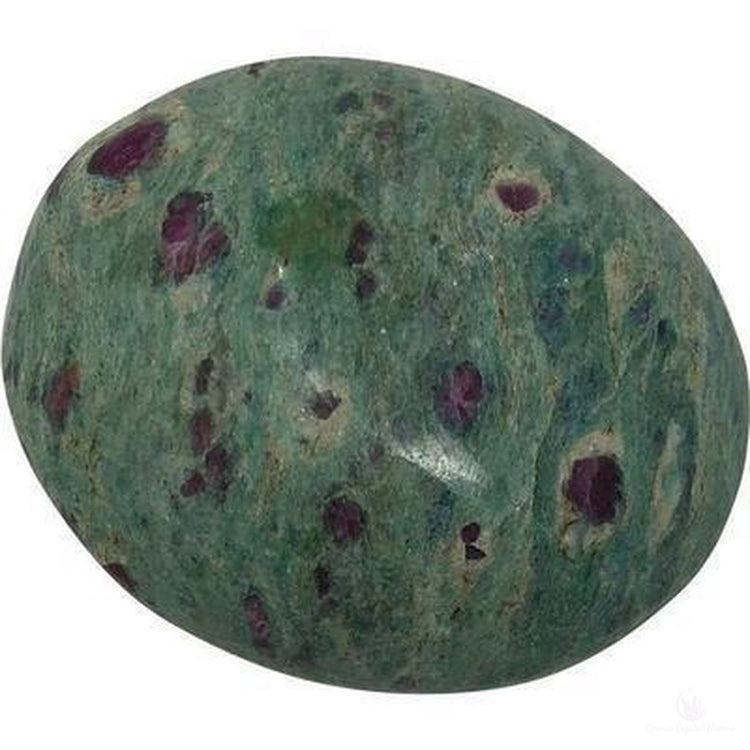 Ruby Fuchsite Palm Stone-Crystals-Cosmic Crystal Visions-Cosmic Crystal Visions