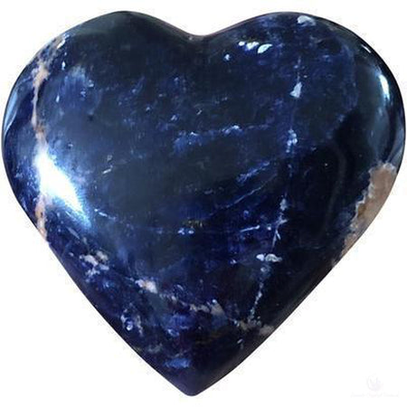 Sodalite Heart-Crystals-Cosmic Crystal Visions-Cosmic Crystal Visions