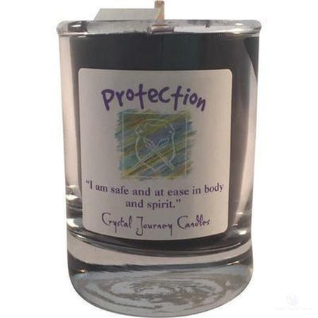 Soy Herbal Filled Votive Candle Protection-Metaphysical Products-Cosmic Crystal Visions-Cosmic Crystal Visions