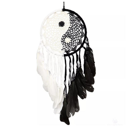 Yin Yang Dreamcatcher-Cosmic Crystal Visions-Cosmic Crystal Visions