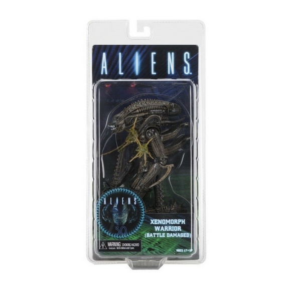 Xenomorph Warrior - Battle Damaged (Aliens) 30 Aniversario NECA