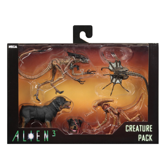 Set 4 Piezas Creature Pack (Alien 3) NECA