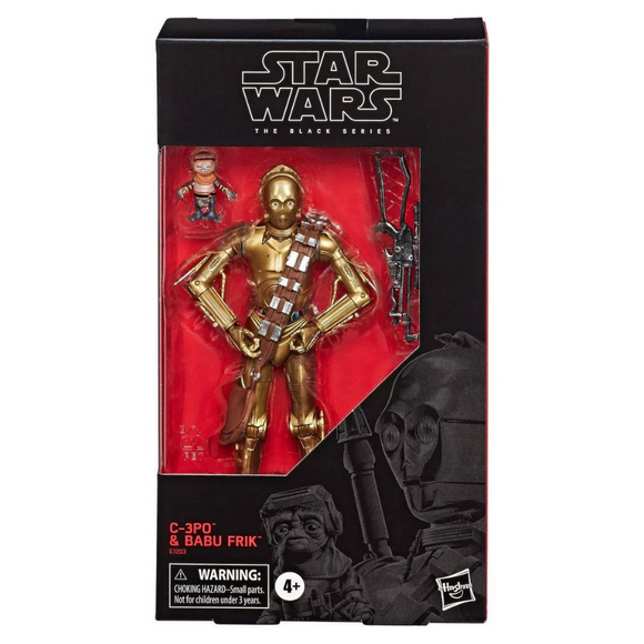 C-3PO & Babu Frik (The Black Series) Hasbro Star Wars