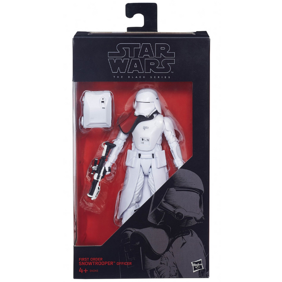 First Order Snowtrooper Officer The Black Series Hasbro Star Wars
