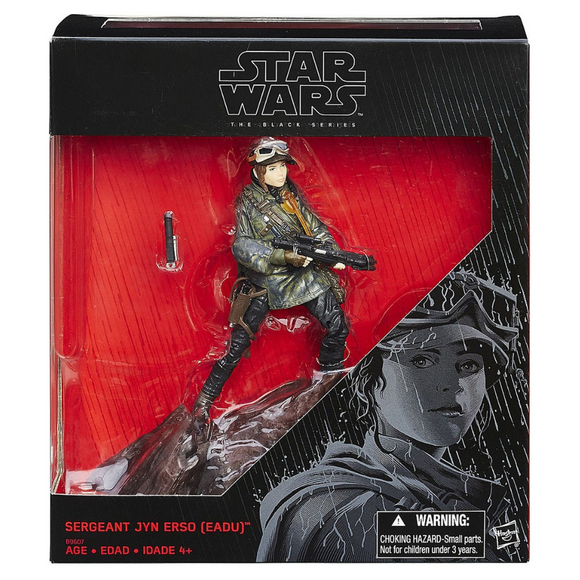 Sergeant Jyn Erso (EADU The Black Series) Hasbro Star Wars