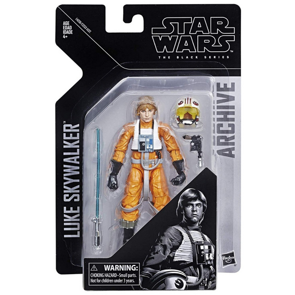 Luke Skywalker X-wing Pilot - ARCHIVE (The Black Series) Hasbro Star Wars