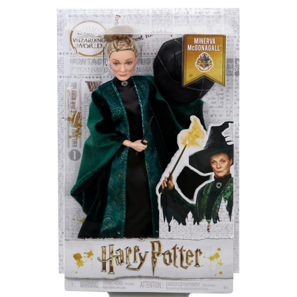 Minerva McGonagall Harry Potter Wizarding World Mattel