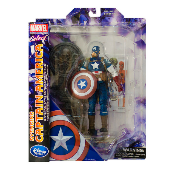 Capitán América (Avenging) Marvel Select