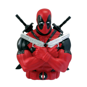 Alcancía Deadpool Busto (Marvel)