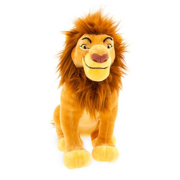 Mufasa El Rey León The Lion King Disney Disney Store Toy Plush Disney+