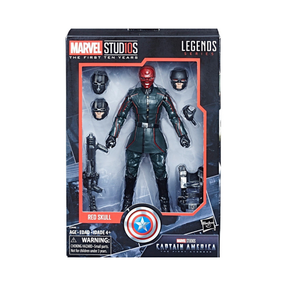 Red Skull Marvel Studios (The First Ten Years) Legends Hasbro