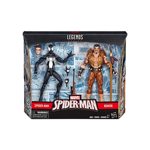 Spider-Man Symbiote // Kraven The Hunter Legends Hasbro
