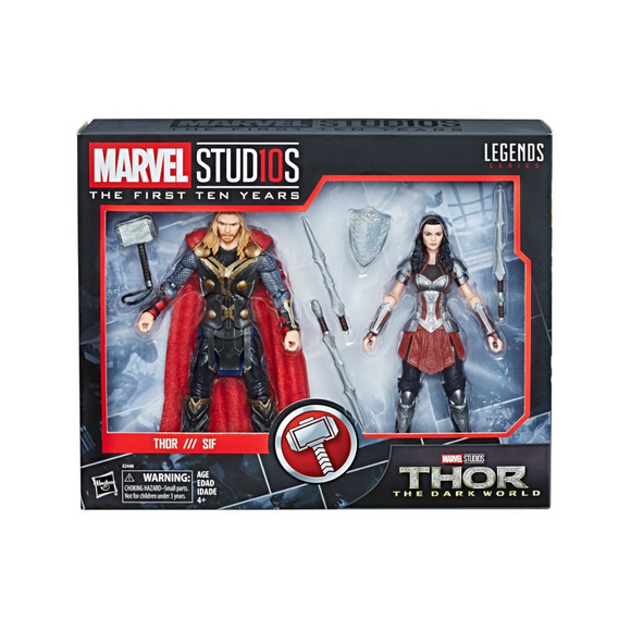 Thor//Sif Marvel Studios (First Ten Years) Legends Hasbro