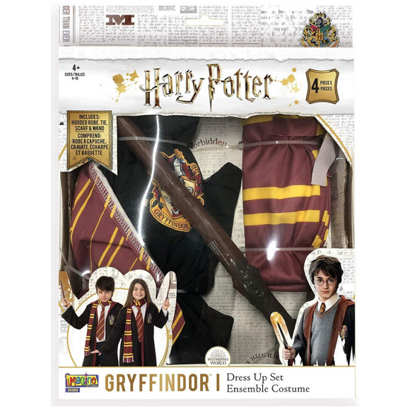 Set disfraz Harry Potter (Gryffindor) iMagine Disfraz Varita
