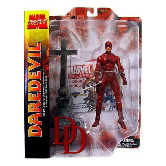 DAREDEVIL MARVEL SELECT DIAMOND DINEY STORE