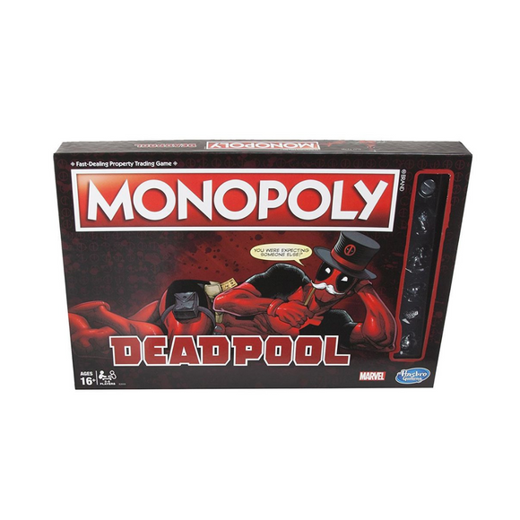 Monopoly Deadpool Marvel Hasbro Gaming