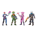Set 4 Piezas Fortnite Squad Mode Epic Games Jazwares