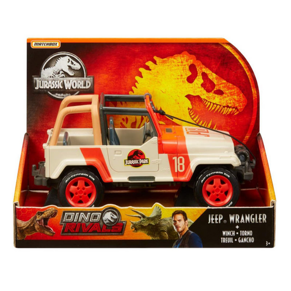Jeep Wrangler (Legacy Collection) Mundo Jurásico Matchbox