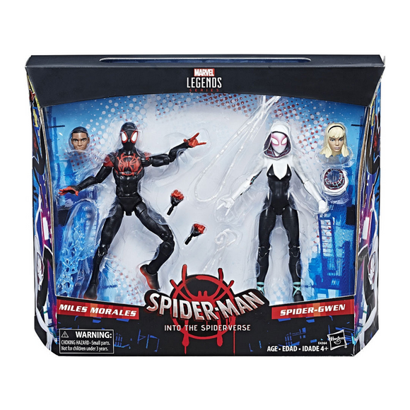 Spider-Man Miles Morales & Spider-Gwen (Into the Spider-Verse) Legends Hasbro
