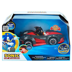 Carro R/C Shadow The Hedgehog - Turbo Boost (Sonic Team Racing)