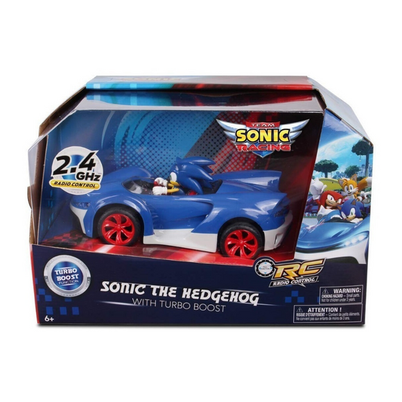 Sonic The Hedgehog - Turbo Boost  R/C (Sonic Team Racing) Nkok