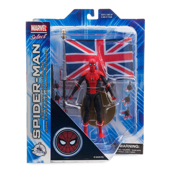 Spider-Man (Far From Home) DIAMOND MARVEL SELECT DISNEY STORE
