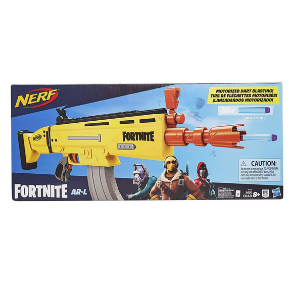 Rifle Fortnite (AR-L) Nerf Hasbro