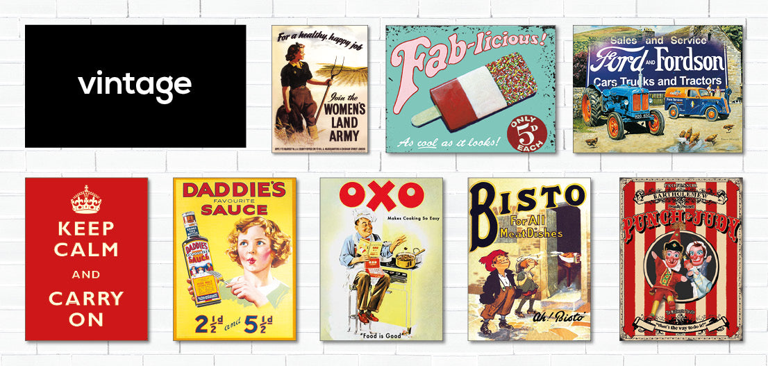 British Made | Metal Signs | Pepsi Vintage Art | Birthday