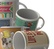 Wide range of mugs designs for him and her, gift ideas, hobbies.
