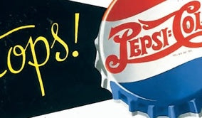 Vintage Pepsi Metal Sign Products