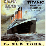 Titanic - To New York
