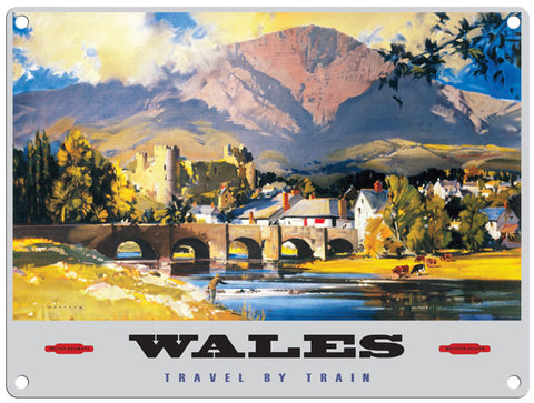 Wales travel by train