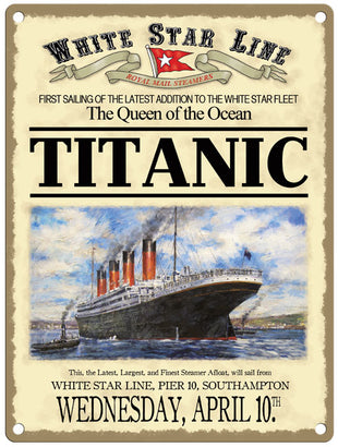 Titanic - Advertising First Sailing