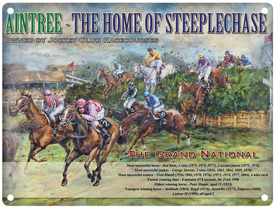 Aintree - Home Of Steeplechase