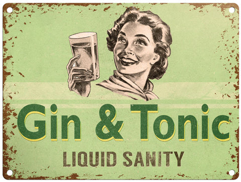 Gin & Tonic Liquid Sanity