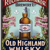 Rochdale & Manor Brewery Highland Whisky