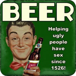 Melamine Coaster - Beer Ugly People