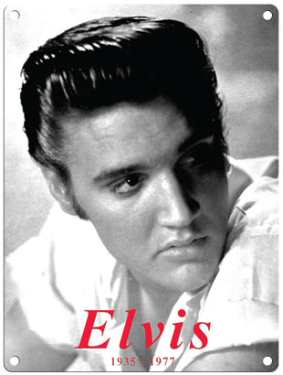 Elvis - Black & White