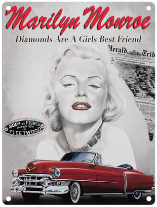 Marilyn Monroe Diamonds are girls best friend