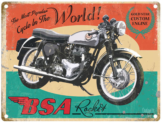 Bsa Rocket The Most Popular Bike In The World