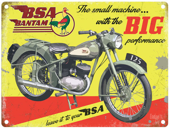 Bsa Bantam Big Performance