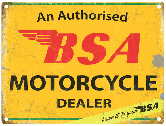 Bsa Authorised Dealer