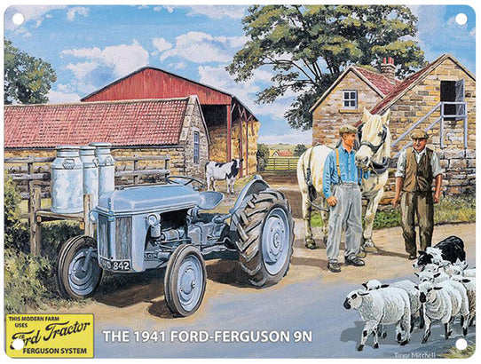 1941 Grey Ford Ferguson 9N