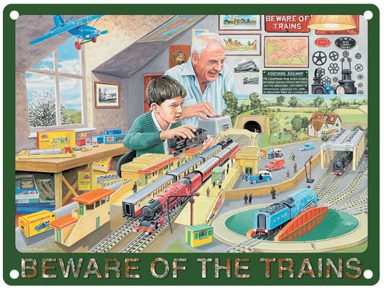 Beware Of Trains - Man & Boy